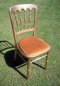 Gilt Banqueting Chair