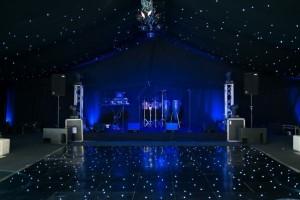 Stage under Starlight Lining