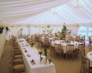 wedding party marquee prices